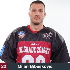 Milan Bibesković 22