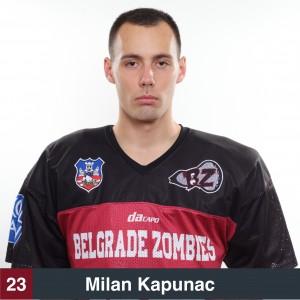 Milan Kapunac 23